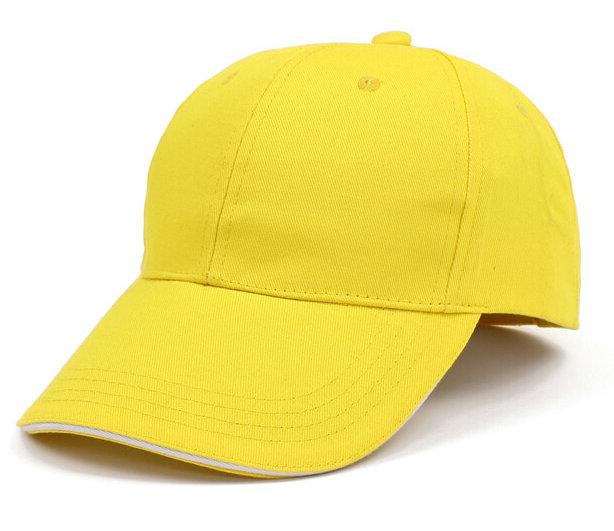 六瓣黄色广告棒球帽太阳帽