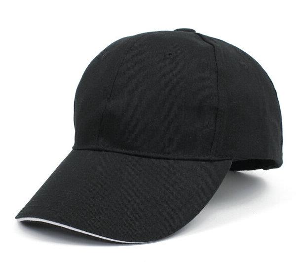 黑色2017新款纯棉棒球帽广告帽