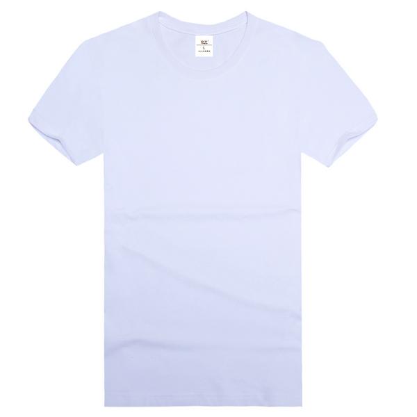 纯棉精梳文化衫  白色